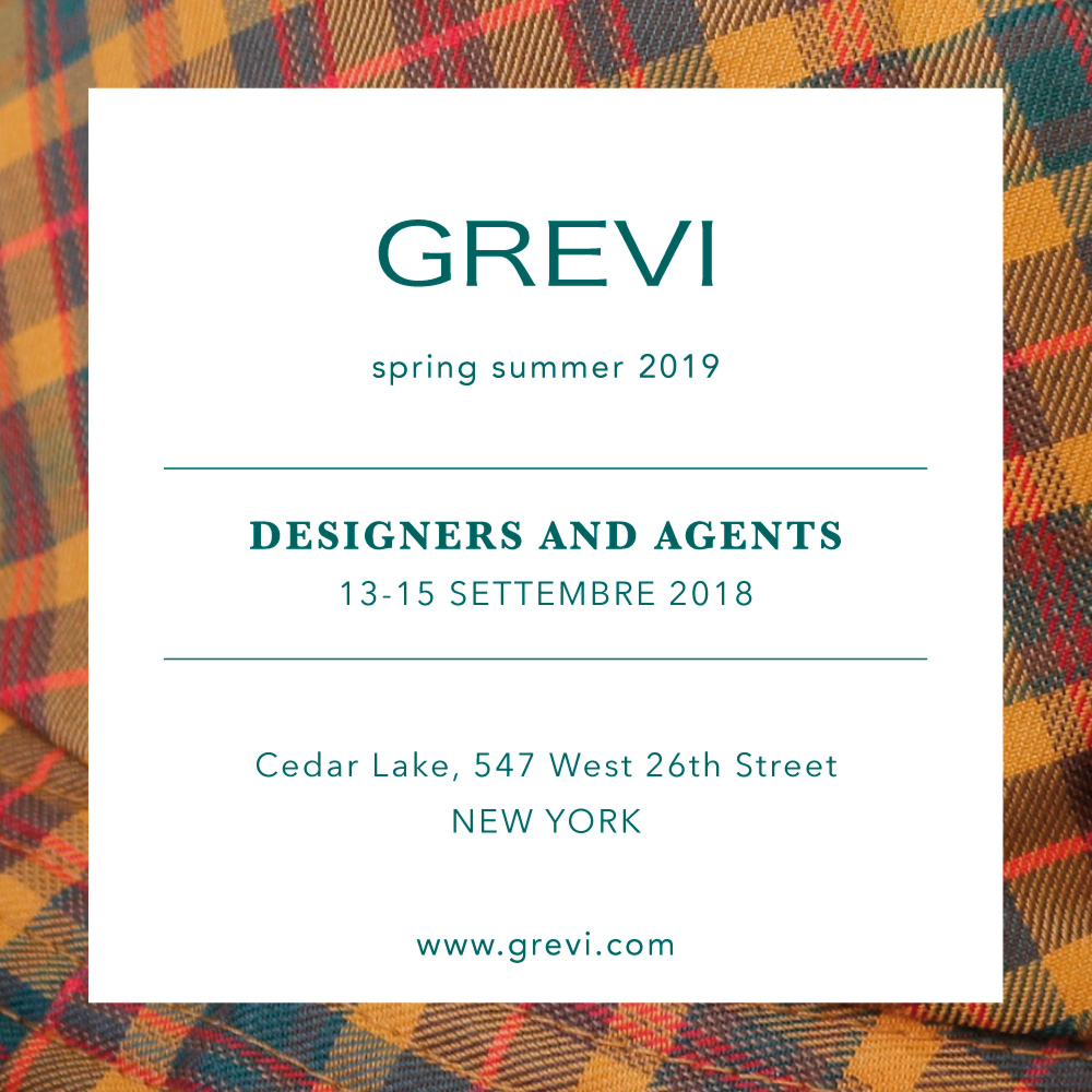 designers & agents new york grevi collezione spring summer 2019