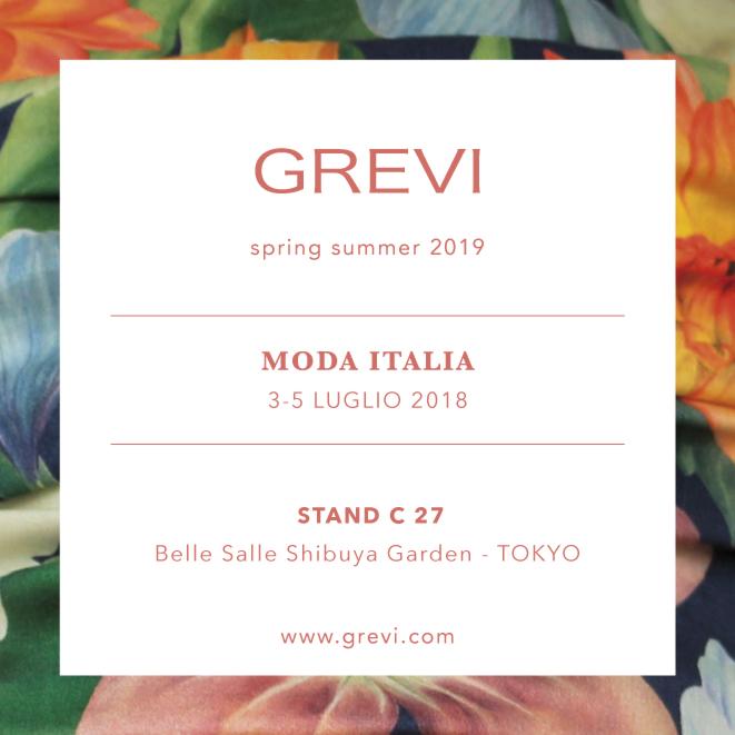 moda italia tokyo grevi collezione spring summer 2019