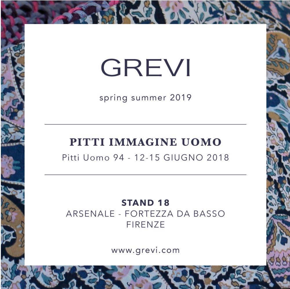 pitti uomo grevi collezione spring summer 2019