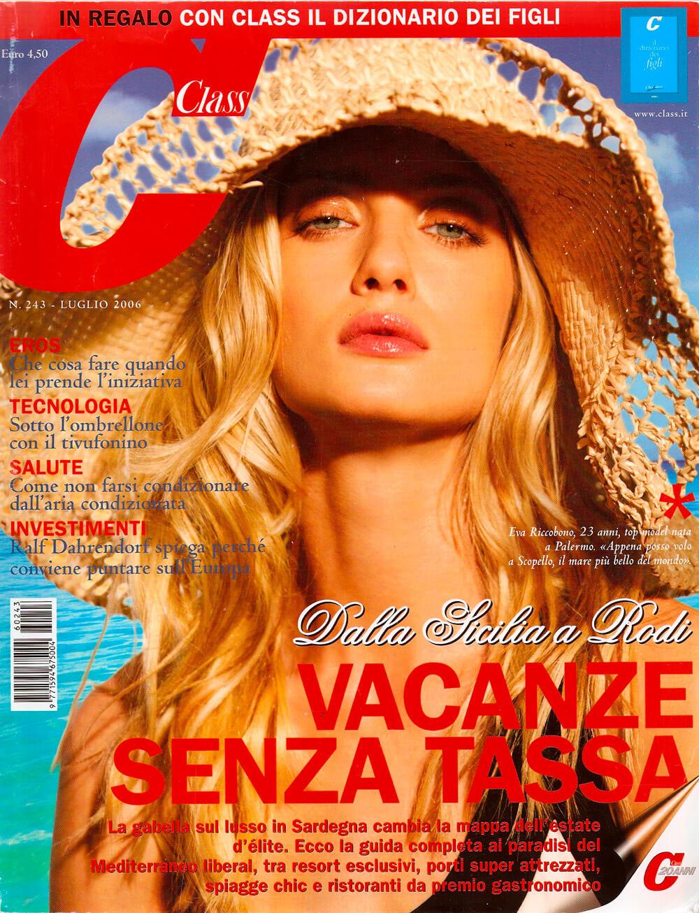 Class cover - Cappello in paglia Grevi