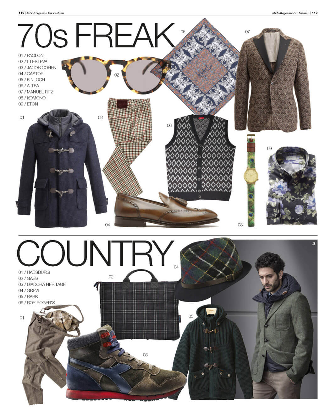 MF fashion country style Grevi