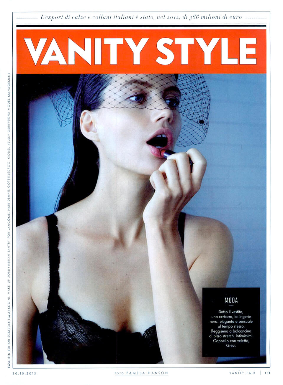 Veletta Grevi - Fascinator - Vanity Fair