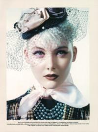 Vogue Italia - cappello con veletta Grevi