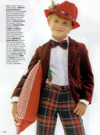 Vogue Bambini novembre 2013 cappello Grevi