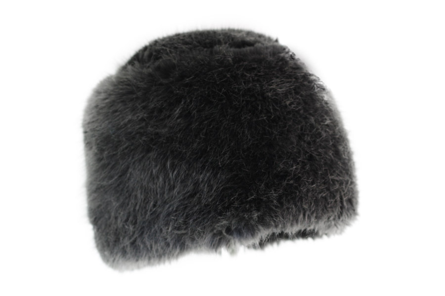 eco fur toque grevi