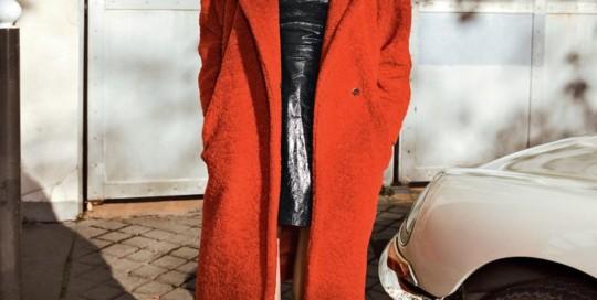 Vanity Fair dicembre 2018 cappello gavroche grevi