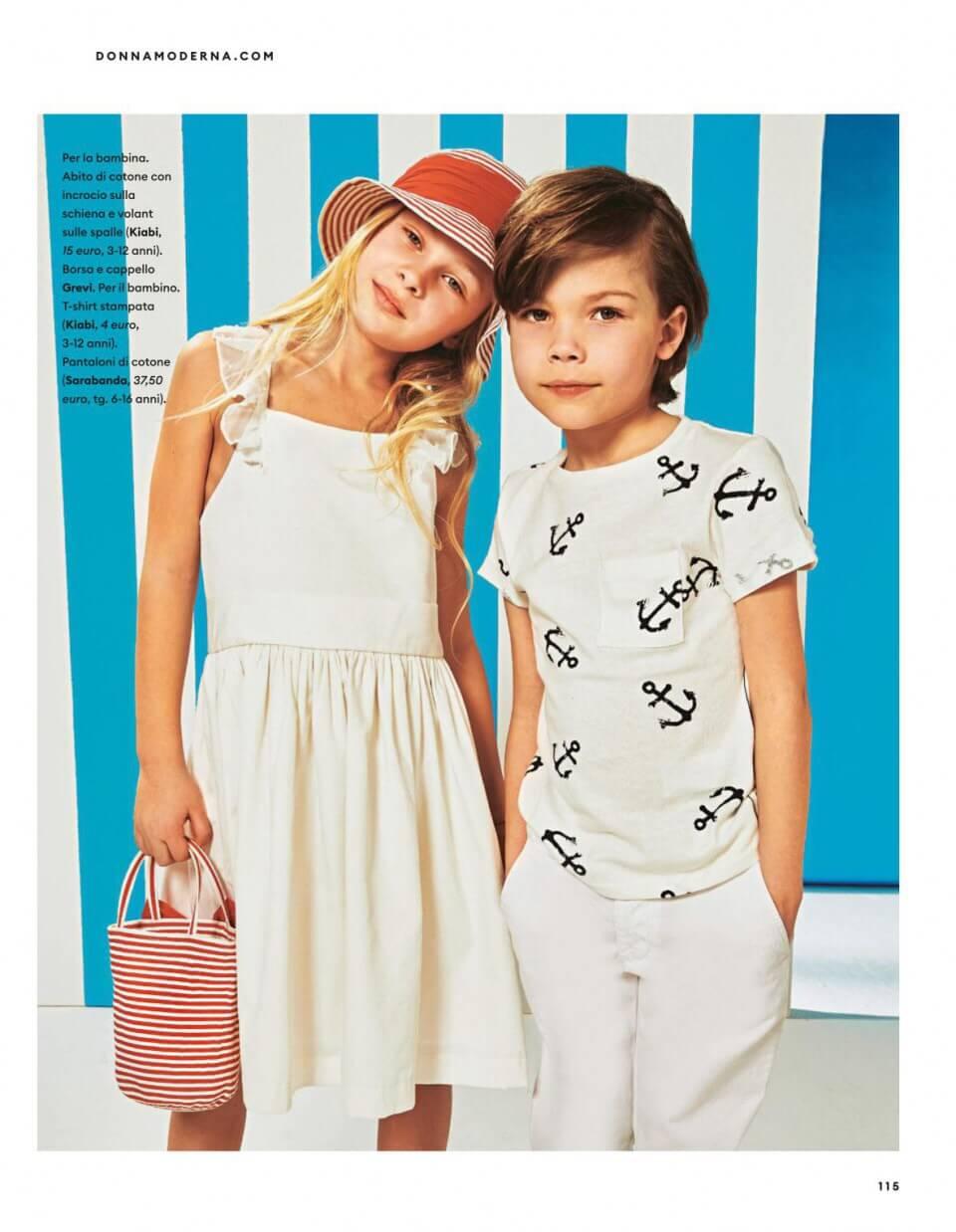 Donna moderna marzo 2019 cappello speciale bambino grevi
