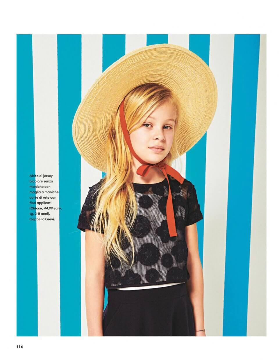 Donna moderna marzo 2019 cappello bambino grevi