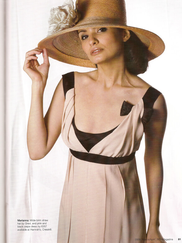 BC Magazine wide brim straw hat by Grevi