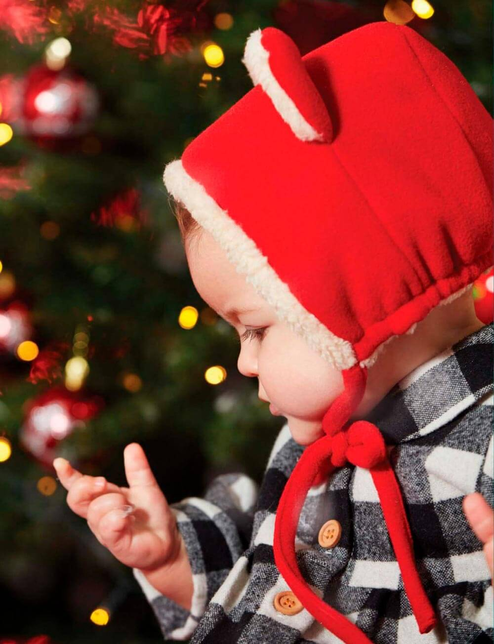 Fleece bonnet childrensalon Grevi baby london