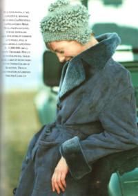 Gioia ottobre 1998 cappello in lana Grevi