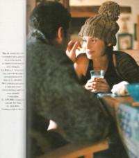 Gioia ottobre 1998 cappello in lana con pon pon Grevi