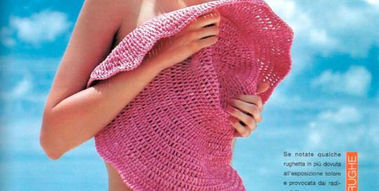 Gioia magazine cappello paglia rosa Grevi