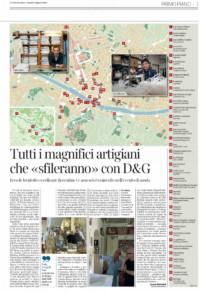 Dolce e Gabbana Firenze Grevi Pitti Immagine