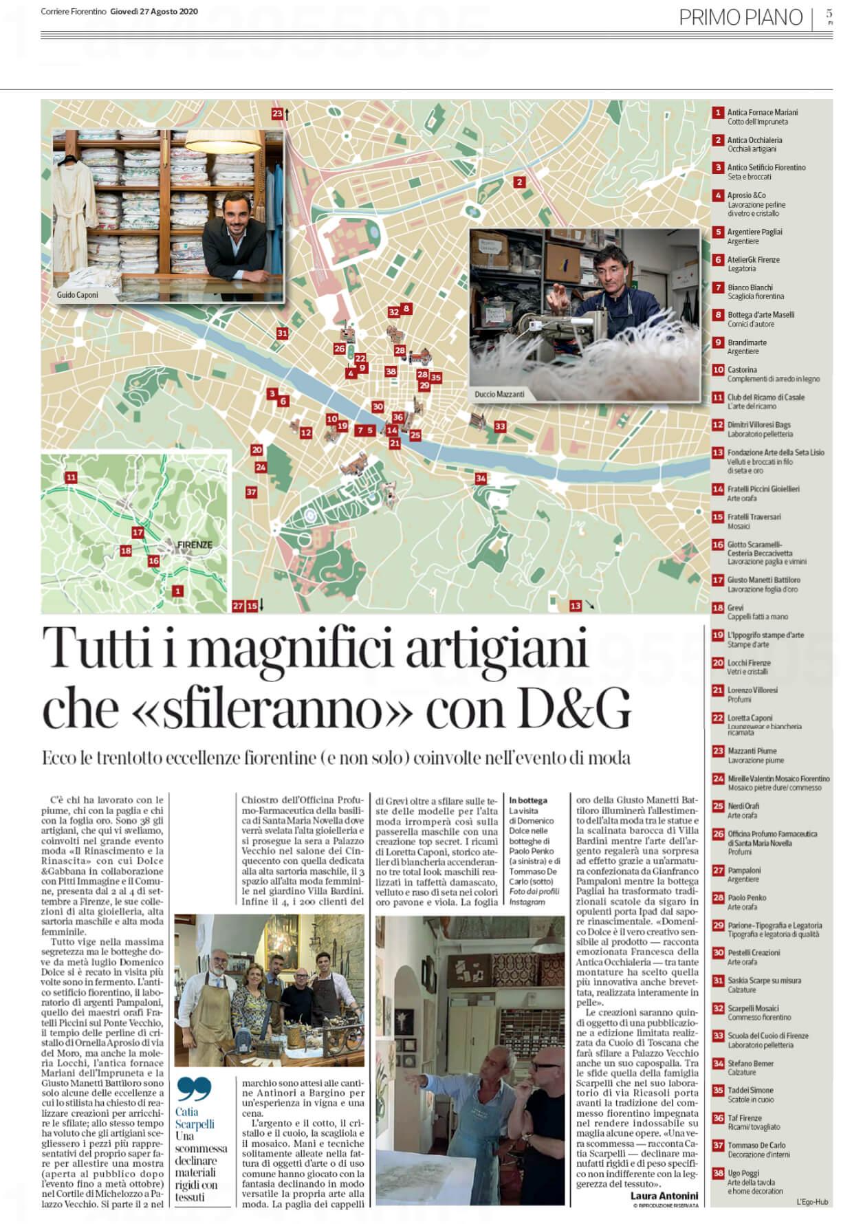 Dolce & Gabbana a Firenze